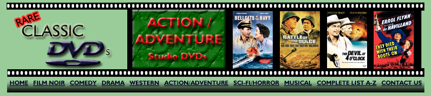 Action/Adventure Studio DVDs