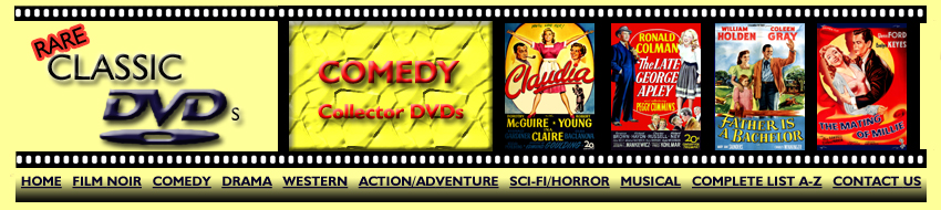 Comedy Collector DVDs